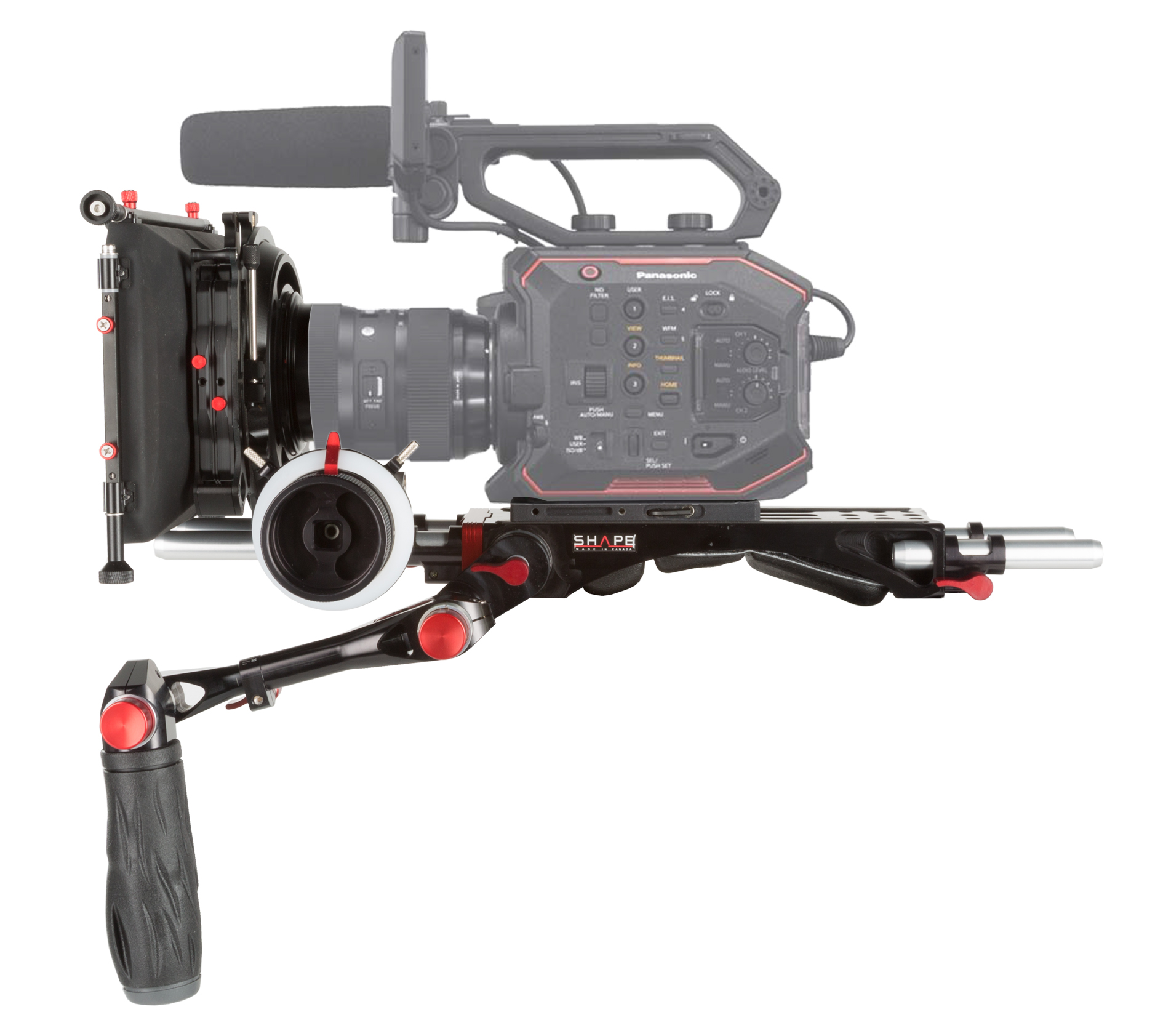 PANASONIC AU-EVA1 camera baseplate